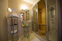 Hotel Aquarell Cegléd **** szép fürdőszoba az Aqurellben