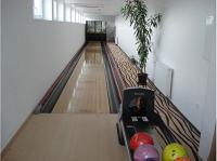 Hotel Residence Ózon bowling pályája Mátraházán