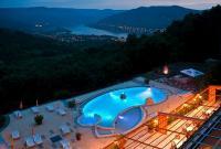 Hotel Silvanus 4* dunai panorámával Visegrádon a szálloda ablakából